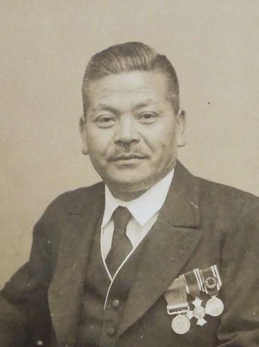 塚原嘉一(昭和16年頃)