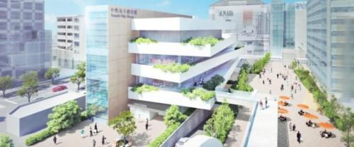 新図書館の外観イメージ(小牧市HPより)