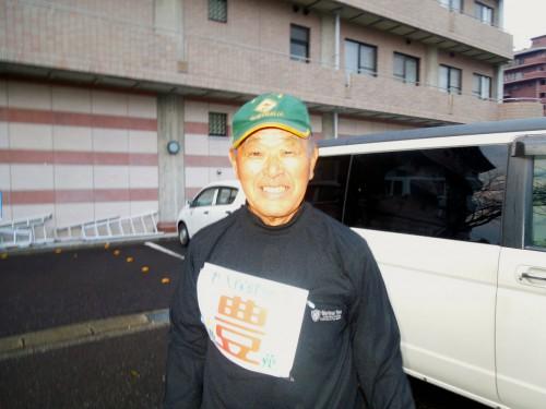 チームを熱い思いで引っ張ってくれた神谷監督78歳。若い!